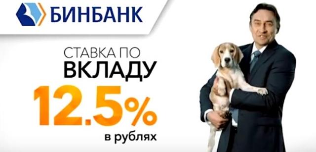 Вклады в Бинбанке на сегодня, процентная ставка