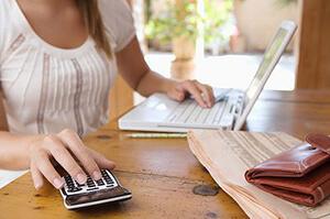 Как вести домашнюю бухгалтерию в тетради: образец
