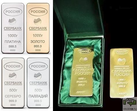Вклады в золото Сбербанк: выгодно ли сегодня