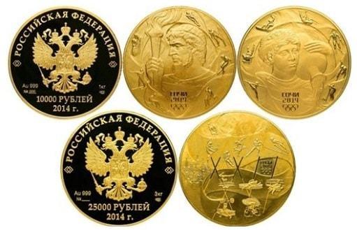 Золотая монета Георгий Победоносец: цена в Сбербанке