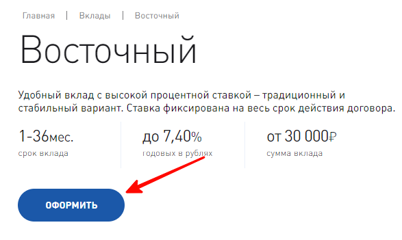 Восточный Экспресс банк: вклады