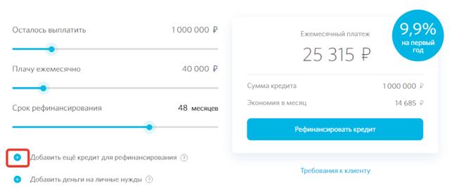 Кредитный калькулятор Открытие: расчет кредита
