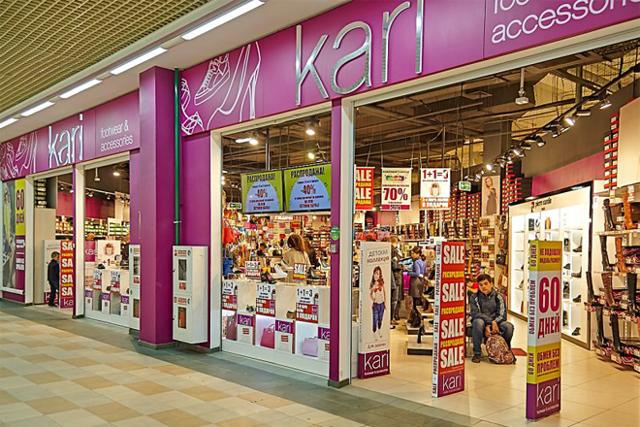 Условия рассрочки в Кари на покупку обуви и аксессуаров