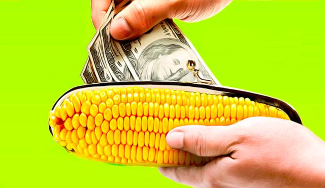 Как снимать деньги с карты Кукуруза