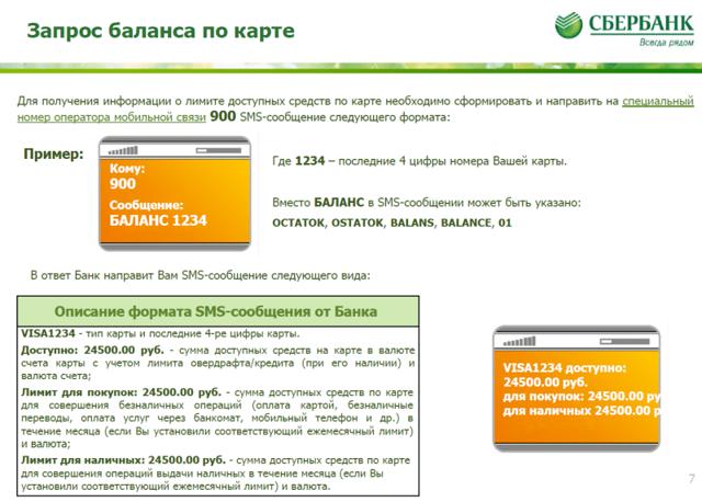 Мобильный банк Сбербанк: инструкция для пользователей