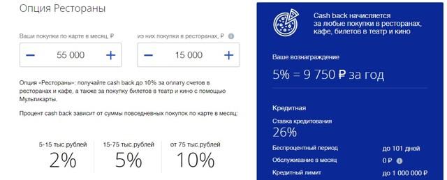 Кредитные карты ВТБ: условия по мультикарте